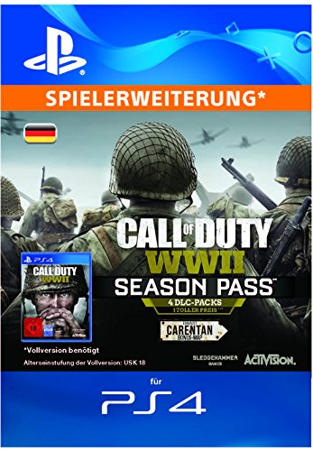 Call of Duty: WWII - Season Pass | DLC | PS4 Download Code - deutsches Konto