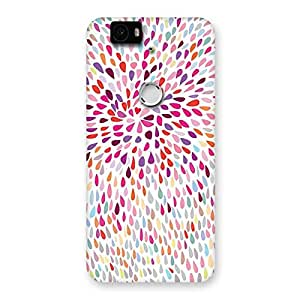 Delighted Colorful Pattern Print Back Case Cover for Google Nexus-6P
