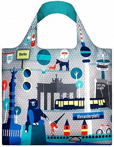 LOQI URBAN Berlin Bag - Einkaufstasche