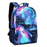 DOLIROX Cool Fashion Boys Girls Outdoor Backpack Anime Luminous Backpack Daypack Unisex Shoulder