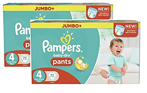 Pampers Baby Dry Pants taille 4 maxi 8–15 kg Jumbo Plus Pack