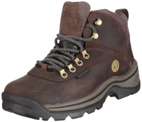 Timberland Damen White Ledge Waterproof (wide fit) Chukka Boots, Braun (Dark Brown), 41 EU