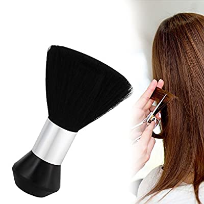 Barber Brush, Professional Soft Black Barber Hair Cutting Neck Duster Cleaning Brush Styling Tools