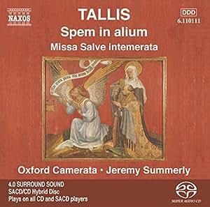 Spem In Alium (Summerly) [Sacd/CD Hybrid]