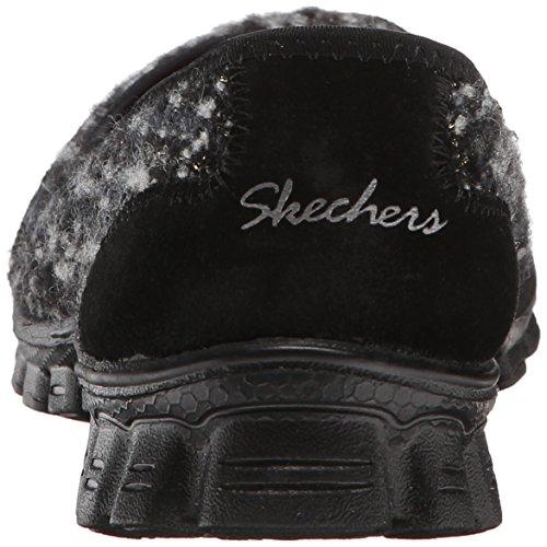 Skechers Ez Flex 2 - Spruced-up, Escarpins femme Black/Woven