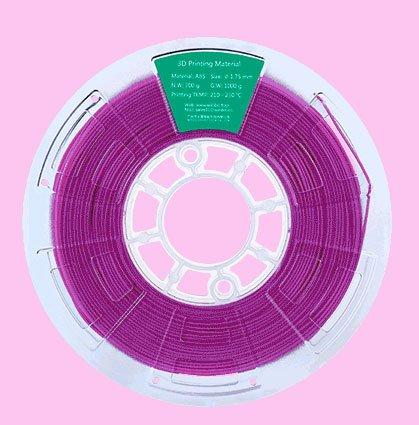 Filamento ABS 1000g 1,75mm para impresoras 3D (Morado)