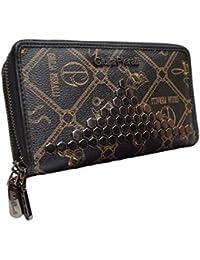bbd6ebe34556f LT LadiesTrends präsentiert Design Damen Geldbörse von Giulia Pieralli  Elegant Luxus Portemonnaie Frauen Geldbeutel mit…