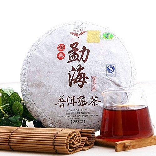 Inovey Yunnan Menghai Pu-Erh Té 357G Peso Pérdida Pu-Erh Torta Pu-Erh Té...