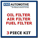 Focus MK2 1.8 TDCi (05–07) Kraftstoff, Air & Oil Filter Service Kit (F19)