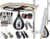 RDX Box-Set, 12-teilig, mit Plattform und Speedball, Weiß / Schwarz