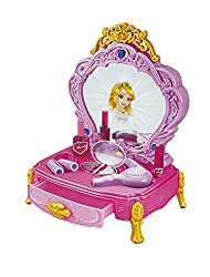 Shopaholic Princess Dresser And Mirror Vanity Beauty With Jewellery For Kids - 80852B