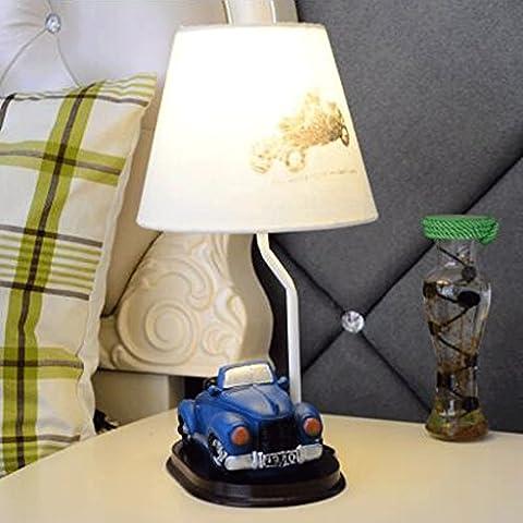 JHBJ Les lampes lampe de chevet enfant lampe de voiture de chambre mode créative salle cadeau de la lampe pour les enfants de bande dessinée de la personnalité Lampe de bureau ( couleur : 6 )