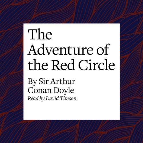 The Adventure of the Red Circle  Audiolibri