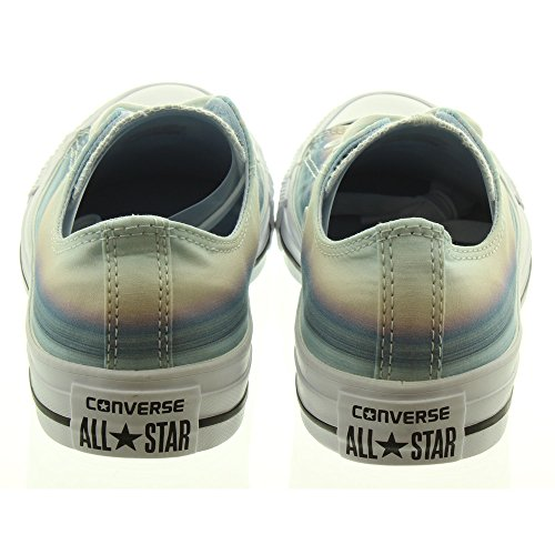 Converse All Star Ox Femme Baskets Mode Bleu Bleu