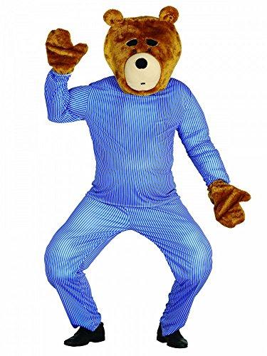 Ted Kopf und Hände Teddybär Bärenkostüm Bär Herren-Kostüm