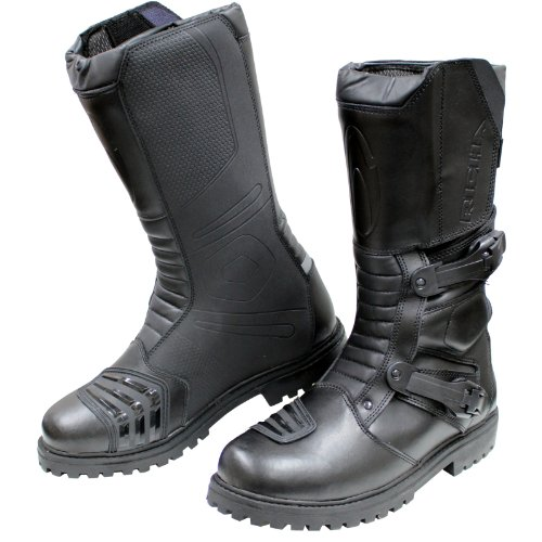 Richa Adventure Motorcycle Boots 45 Black (UK11)