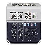 Mini mixeur 4 canaux SubZero MIX02-1A par Gear4music