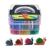 Vindany Arcilla polimérica 42 Bloques de Modelado de Color Arcilla 1.35KG/2.97LB de Horno Suave Hornear Arcilla con Herramientas de Modelado DIY Artesanía Arcilla Set para niños'regalo