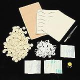 Bluelover Permanent Augenbraue Make-Up-Praxis Set Tinte Microblading Stift Tattoo Maschine Praktiken Haut Für Lernenden