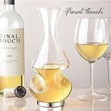 FINAL TOUCH Conundrum B00D8ZIYXO Weinbelüfter und Dekanter, Glas (farblos) - 5