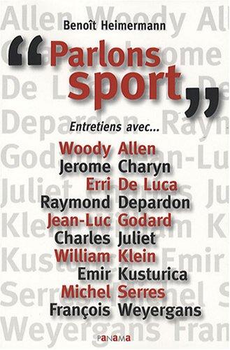 Parlons sport par Benoît Heimermann