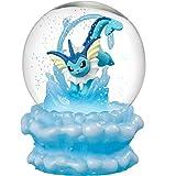 Pokemon Vaporeon Snow Slow Life Globe
