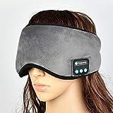 Masque de Nuit Yeux Appareil de Massage Oculaire Fonction Bluetooth Intelligence sans Fil Eye Massager Masque Sommeil pour Yeux Occasionnel Sommeil Ombrage Écoutez de Musique et Répondez au Téléphone