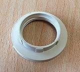 Iso-Gegenring für Lampenfassung E14, Unterring , Schraubring , Lampenfassung, Halterung für das Glas
