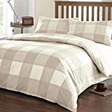 Newquay - Easy Care Duvet Cover Set - King, Natural