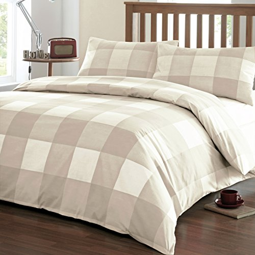 Dreams 'n' Drapes - Set di lenzuola Newquay per letto matrimoniale, colore: Bianco
