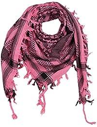 27e5ad51f41 Freak Scene® Foulard palestinien keffieh en coton - motifs tête de mort n°1  - 100 x 100 cm - Large palette de…