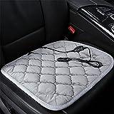 RUIRUI 12-Volt beheizbare Sitzauflage Auto Heizkissen , gray
