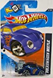 VW BEETLE in Blue Hot Wheels 2012 Heat Fleet Series 1:64 Scale Collectible Die Cast Car #005 by Hot Wheels