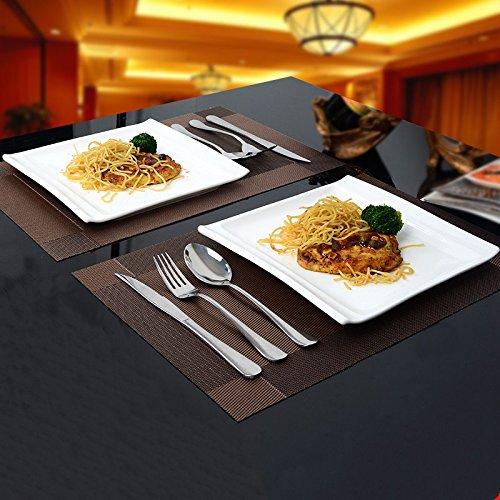 assiettes-en-ceramique-kit-ceramique-carre-blanc-a-lechelle-de-louest-plats-plats-steak-de-louest-de