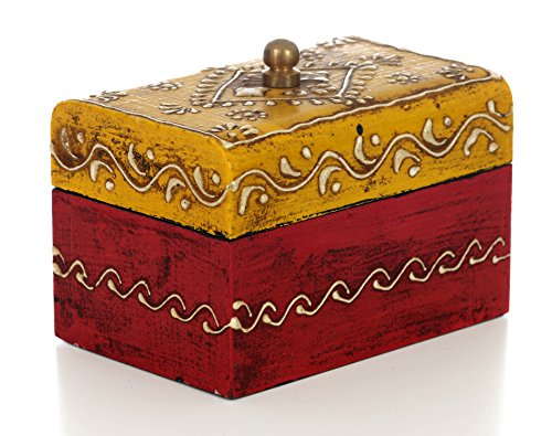 Almirah antik Stil kleine Box (100x 70x 70mm) -