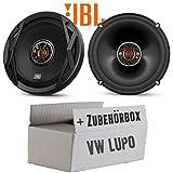 VW Lupo Front - Lautsprecher Boxen JBL Club 6520 | 2-Wege | 16cm Koax Auto Einbauzubehör - Einbauset