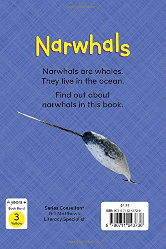 Reading Gems Fact Finders: Narwhals (Level 1)