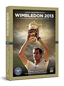Wimbledon: Official 2013 Collector's Edition (Includes Men's Final and The Man Behind the Racquet BBC documentary) 3-disc set [DVD]