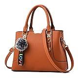 Tasche Korean Handtaschen Naht Schulter Diagonal Handtaschen Frauen Handtasche brown 30x21x13cm