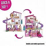 Barbie Casa dei Sogni con 8 Stanze, Il Garage, Piscina,, FHY73