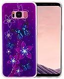 Samsung Galaxy S8 Plus Silikon H�lle ,Roreikes Muster Handytasche,Ultra Slim TPU Weich Durchsichtig Schutzhh�lle Etui Gl�nzend Clear Case Handy H�lle Tasche Schale Bumper 6.2 Zoll medium image