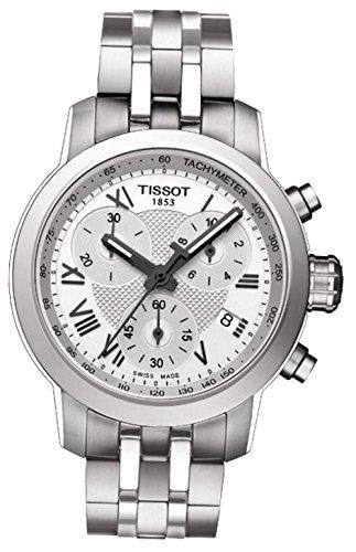 Tissot Prc200 Chrono Dau Stahl/Stahlb, T055.217.11.033.00
