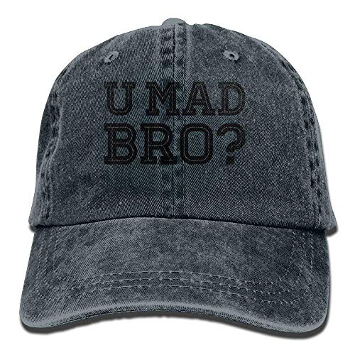Presock Like A Cool You MAD Story Bro Moustache Cowboy Hat Rear Cap Adjustable Cap