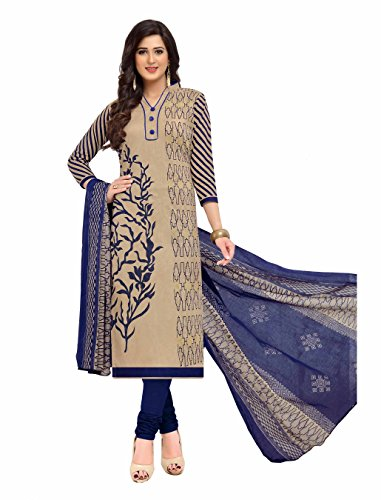 Miraan Printed Unstitched Cotton Dress Material And Churidar Suit For Women (BAND1606)