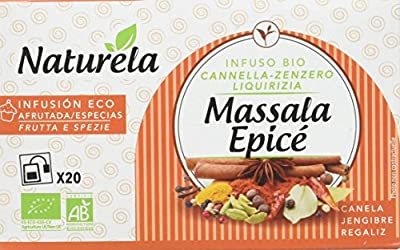 NATURELA Infusion Massala Epice 30 g - Pack de 10