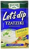 Fuchs Let's dip Tzatziki, 5er Pack (5 x 12,5 g)