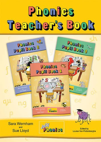 Jolly Phonics Teacher's Book Cover Image