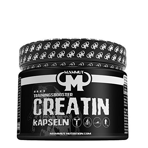 Mammut Creatin Trainingsbooster Kapseln, 213.6 g