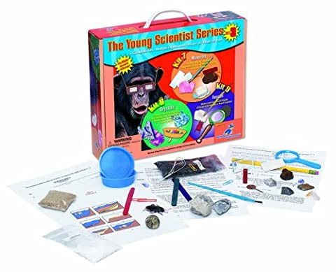 Young Scientist Series–Set 3: Minerals (Kit 7)–Crystal (Kit 8)–Kit de fossiles–(9)
