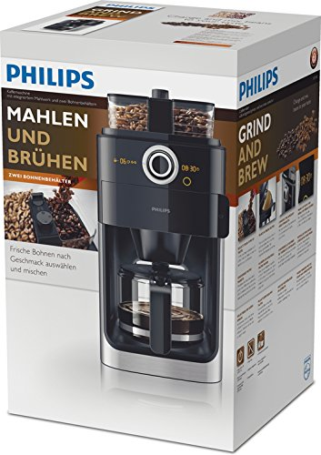 Philips HD7766/00 Grind&Brew Filter-Kaffeemaschine mit Mahlwerk - 6